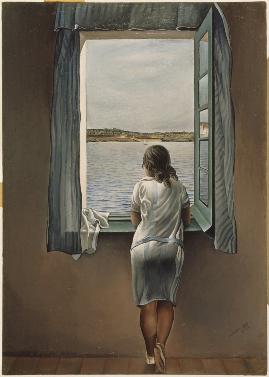 <em>Young Woman At A Window </em>by Salvador Dali