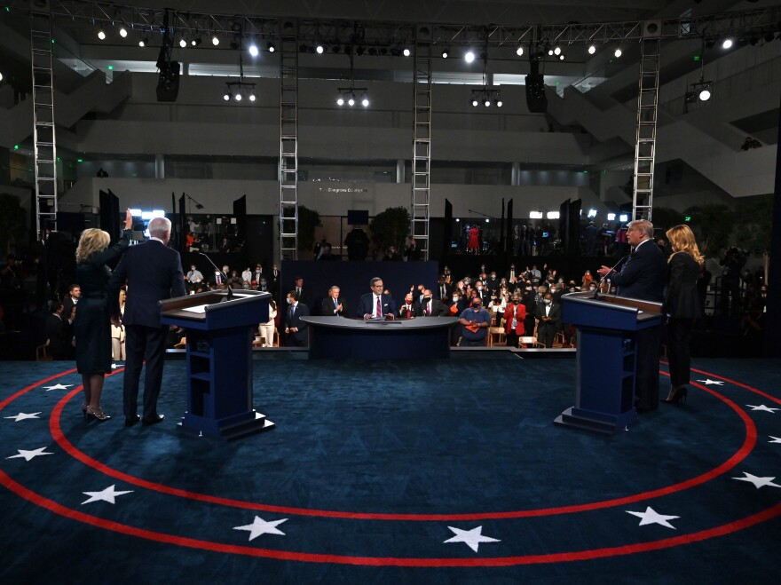 The second presidential debate, previously scheduled for Oct. 15 in Miami, Fla., has been canceled.
