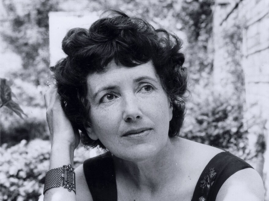 A portrait of Patience Gray taken in 1959 by a colleague at the <em>Observer</em>. A British food writer, Gray advocated slow food and foraging long before the rest of the food world. Her work had outsized influence on chefs from Alice Waters on. A new biography tells her story.