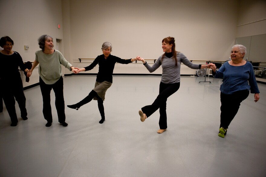 """Dance for PD"" classes use music to temporarily ease tremors and get Parkinson's patients moving."