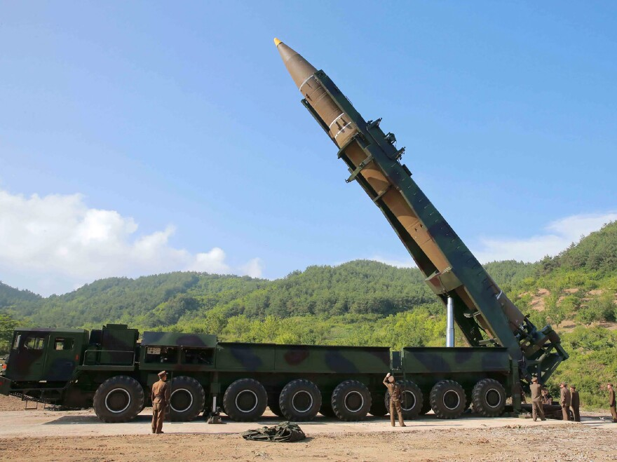 North Korea hasn't tested any missiles capable of reaching the U.S. since 2017.