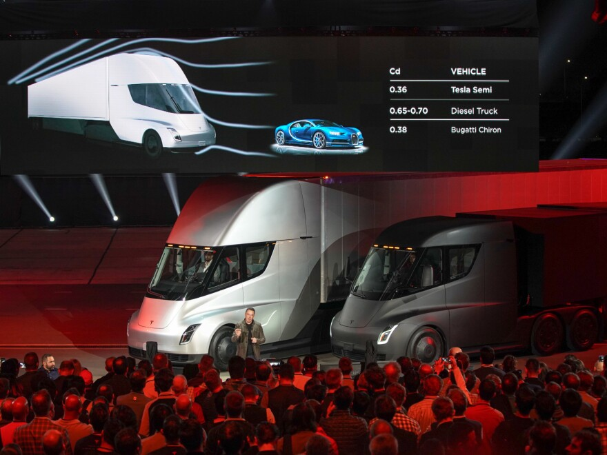"""Trucking and freight company J.B. Hunt has already announced that it had placed a reservation to buy """"multiple Tesla Semi tractors."""""""