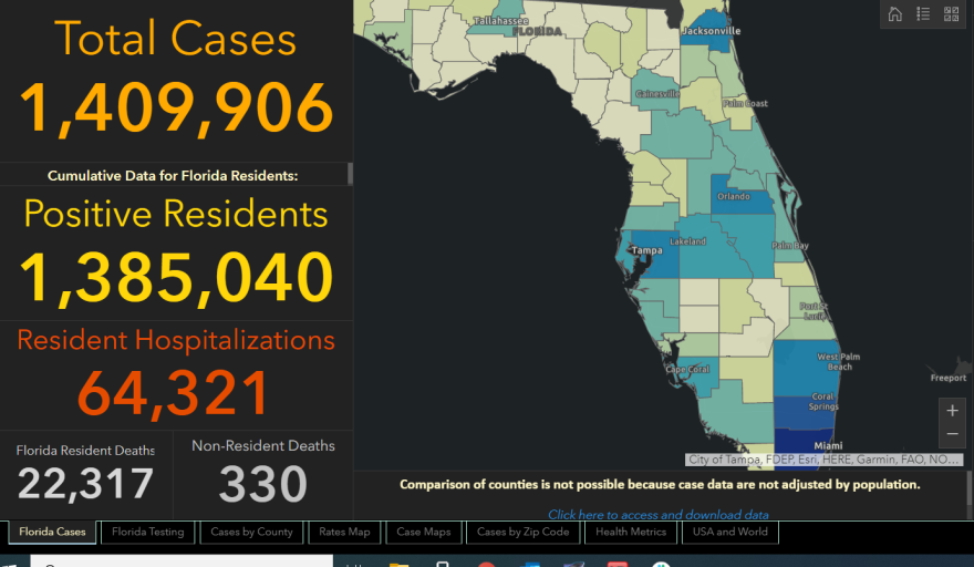 The state added more than 17,000 cases and 132 deaths on Wednesday.