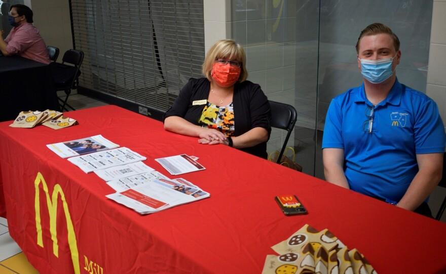 McDonalds Staff Career Fair