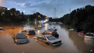 Floods threaten to shut down a quarter of U.S. roads and critical buildings
