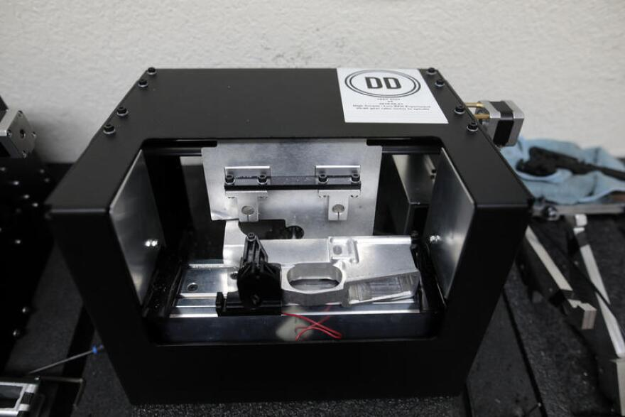 The Ghost Gunner is a milling machine that can be used to finish gun parts.