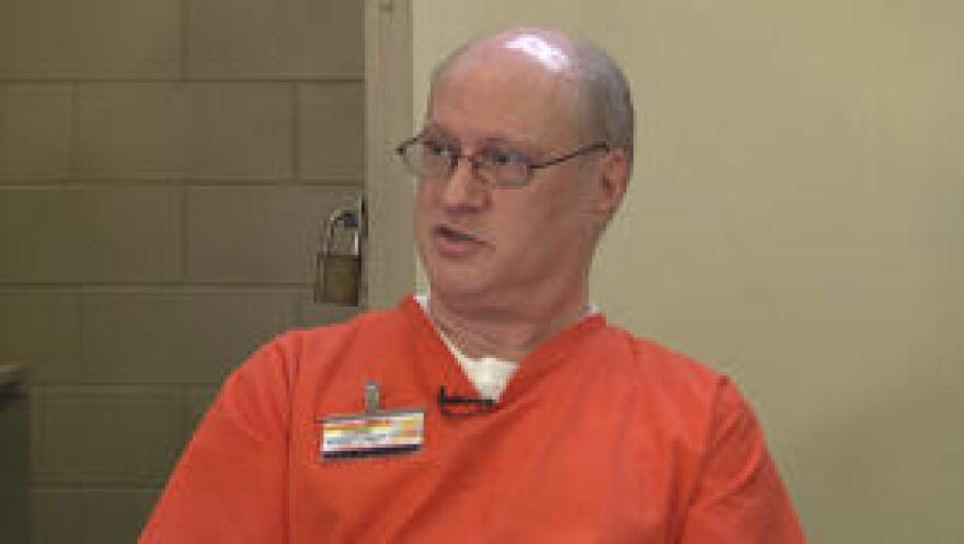 Mike Lambrix two days before his execution at a group interview.