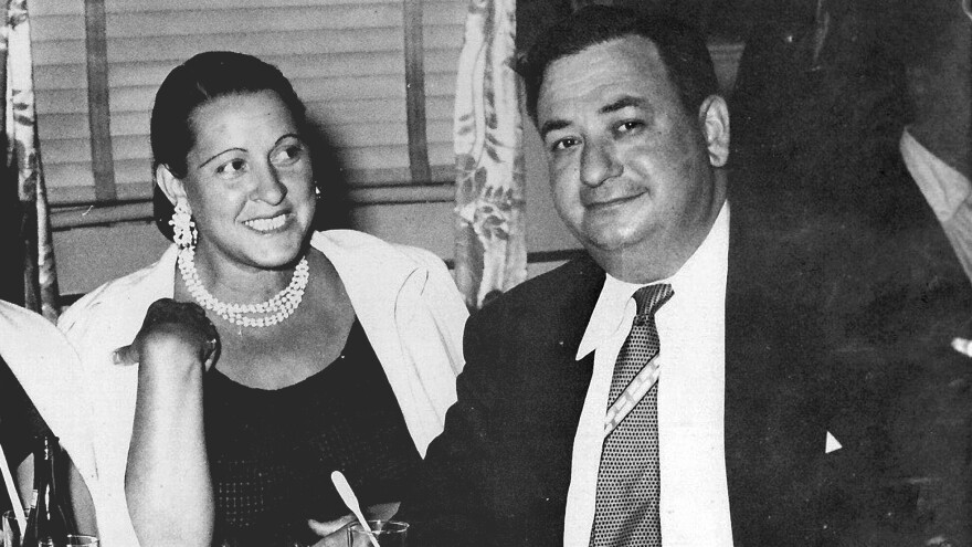 The author's grandparents, Russell and Mary Shorto, socialize at Club Harlem in Atlantic City in the mid-1950s.