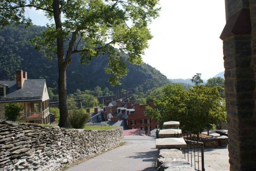 Harpers Ferry view from the hill