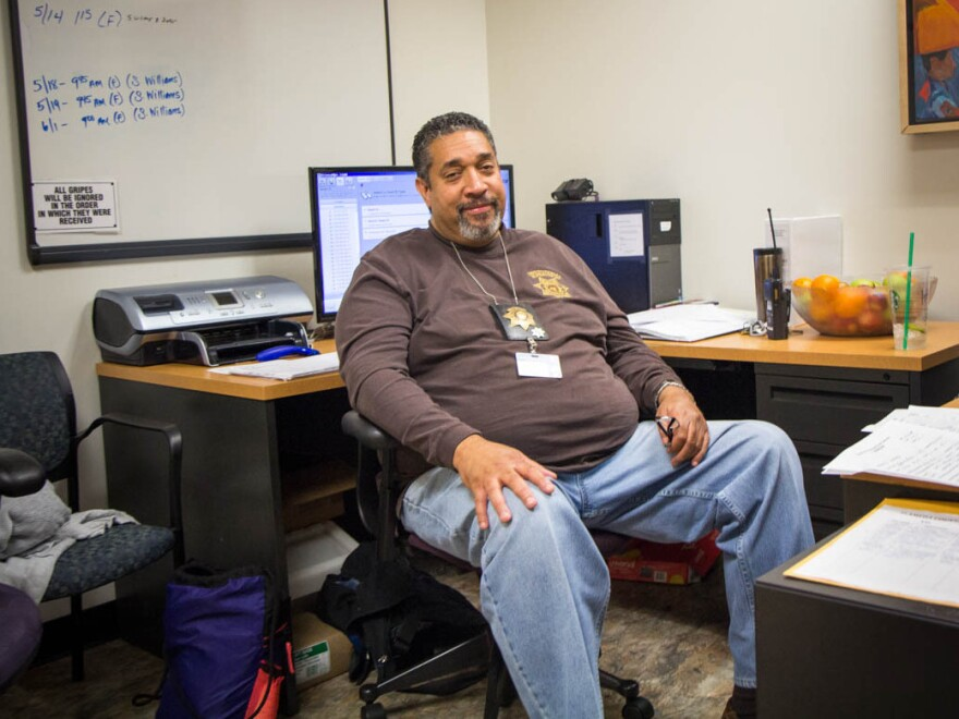 "Alameda County Juvenile Hall supervisor Ray Colon says that because of staffing shortages, youth inmates ""spend more time in their room, which is unfortunate, but it's the reality of not having the staff to complete the duties we need to do."""