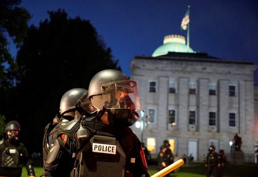 Raleigh, N.C. Mayor Mary-Ann Baldwin issued a citywide curfew Friday afternoon ahead of two planned protests over racial justice and police brutality.