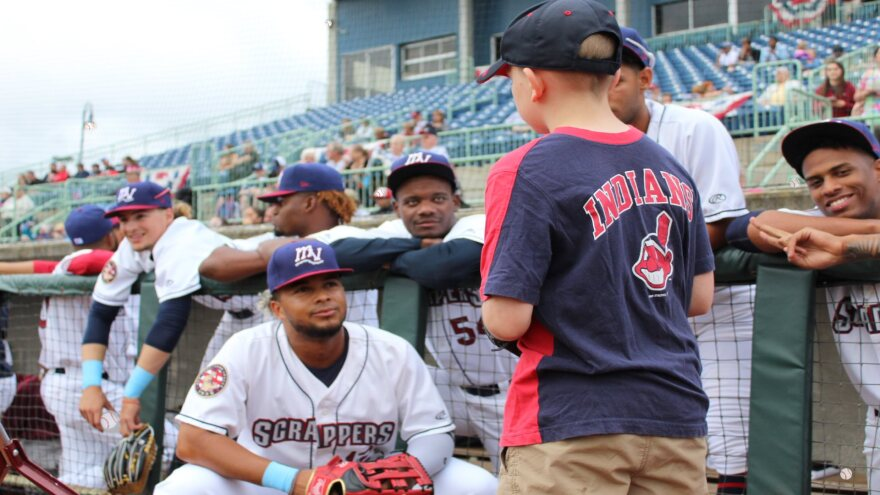 A photo of Mahoning Valley Scrappers
