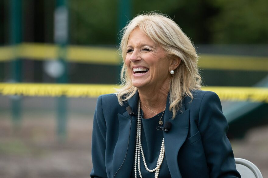 First Lady Jill Biden. (Jim Watson/AFP via Getty Images)