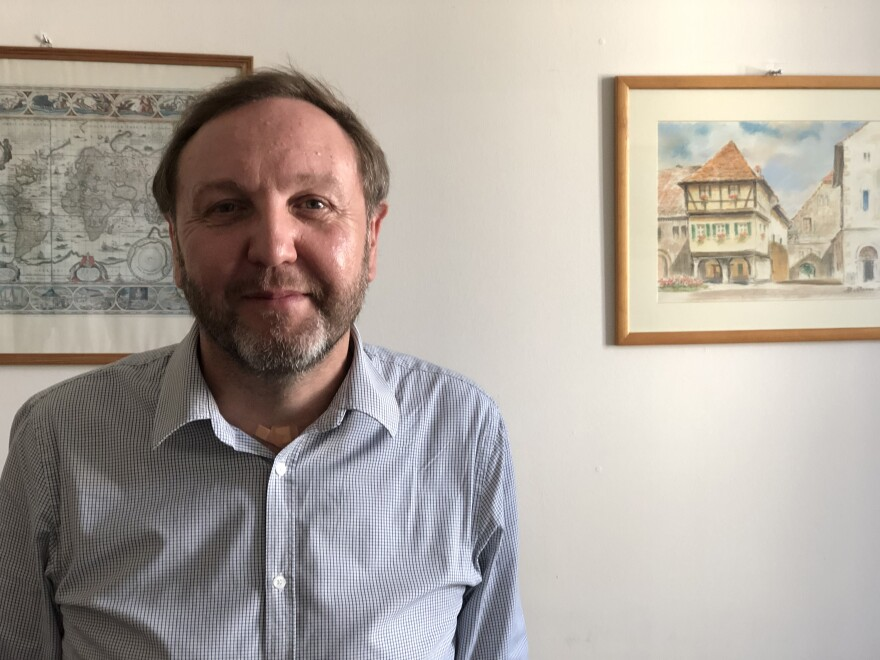 Jacek Kucharczyk, president of the Institute of Public Affairs, one of Poland's largest think tanks, says priests throughout rural Poland encourage parishioners to vote for the Law and Justice Party. In return, Kucharczyk says, the party protects the church.