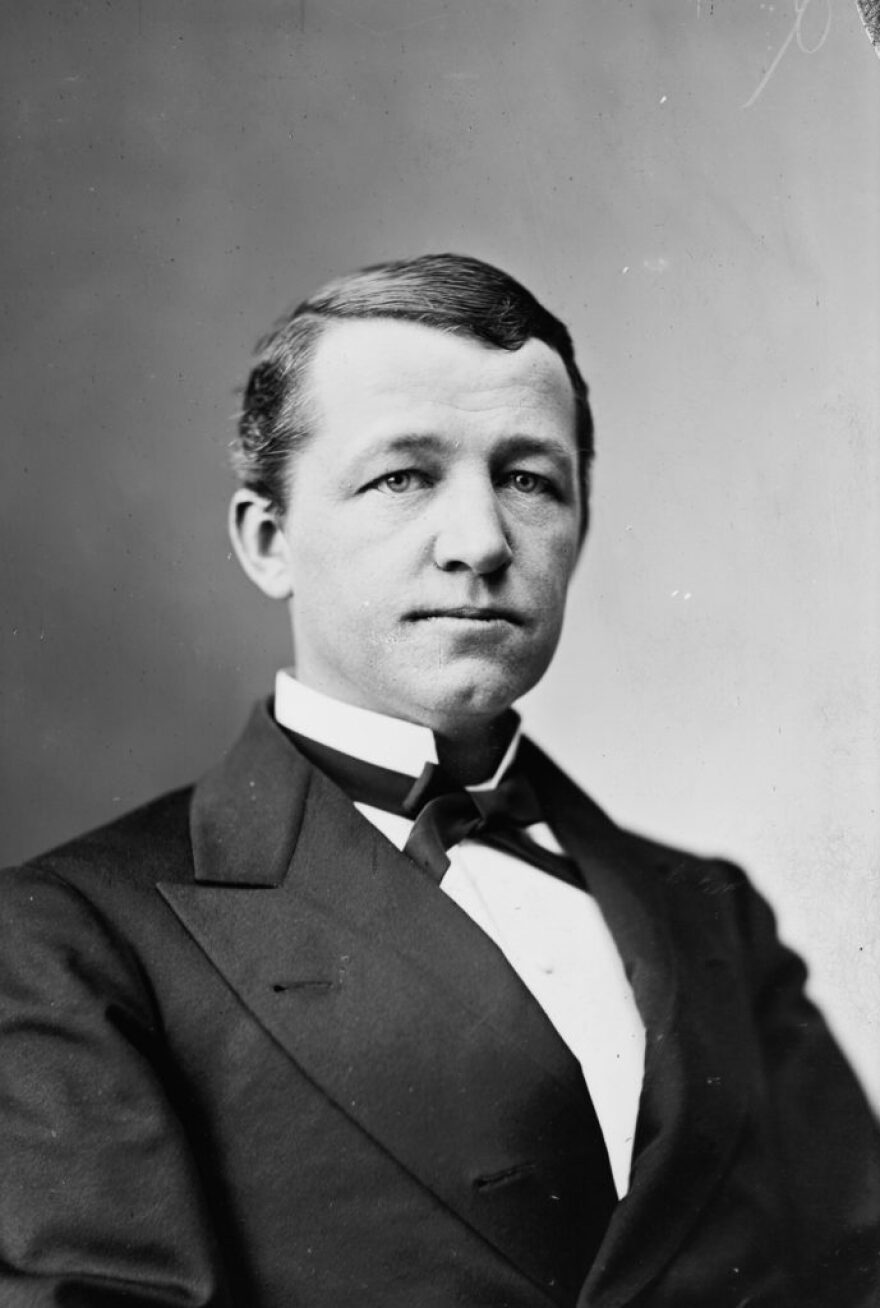 After the initial election tally in November 1888, Republican Nathan Goff Jr. had held a 106-vote lead over Democrat A. B. Fleming.