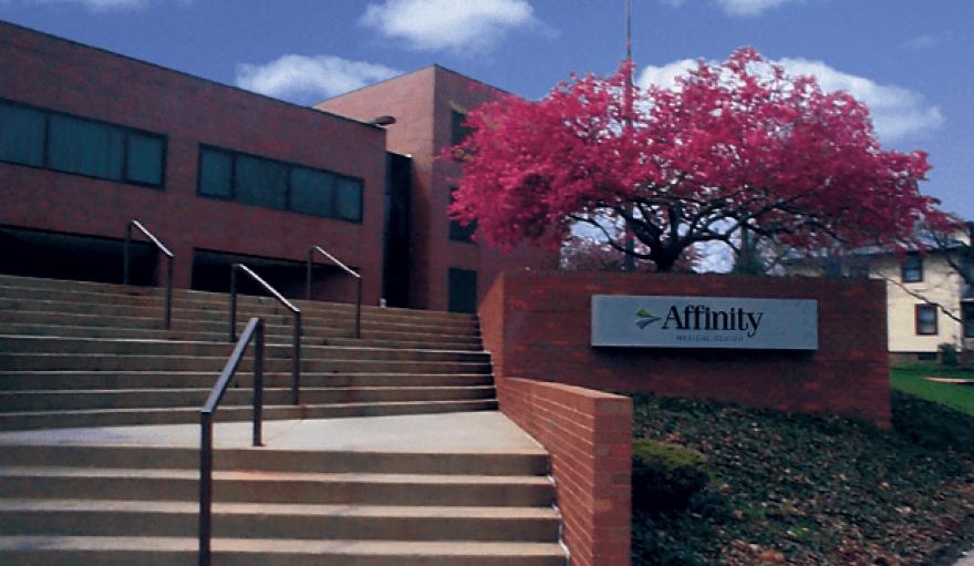 8th St. entrance, Affinity Medical Center