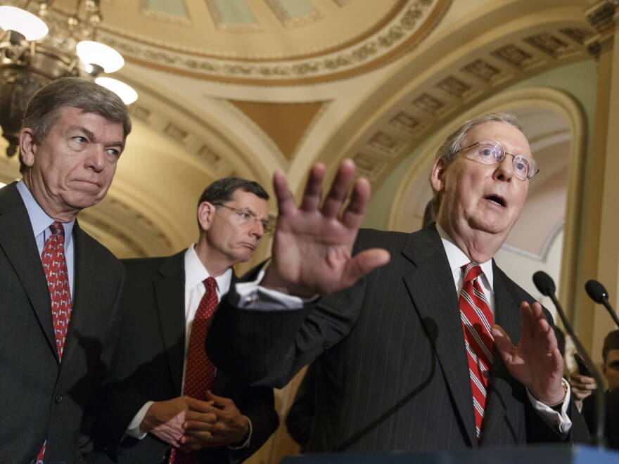 Senate Minority Leader Mitch McConnell, R-Ky., called Democrats latest COVID bill a political stunt as negotiators attempt to reach a relief agreement before the election.