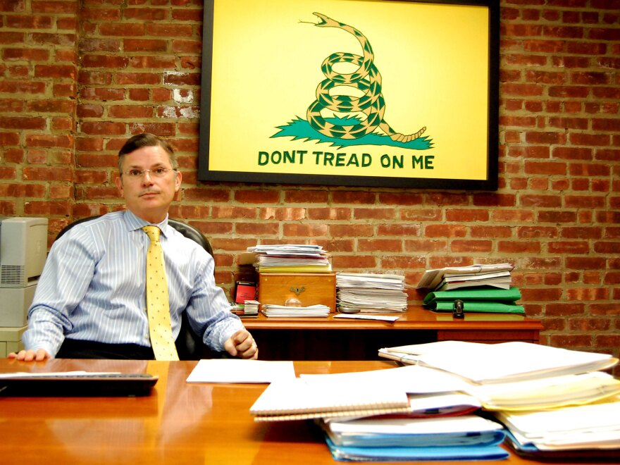 Dennis Kelly in his Long Beach, N.Y., office. Kelly and others allege insurance lawyers are dragging out claims in order to pad legal bills.