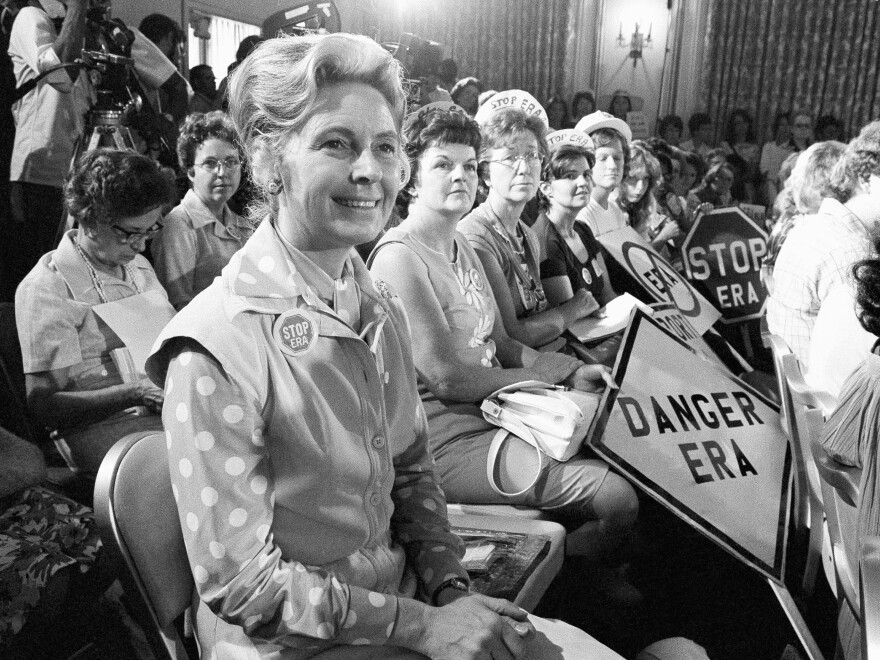 One of the leading opponents of the ERA during the 1970s was conservative Illinois lawyer Phyllis Schlafly, who launched a campaign called Stop ERA and is credited with helping mobilize public opinion against the amendment in some of the states that balked at ratifying it.