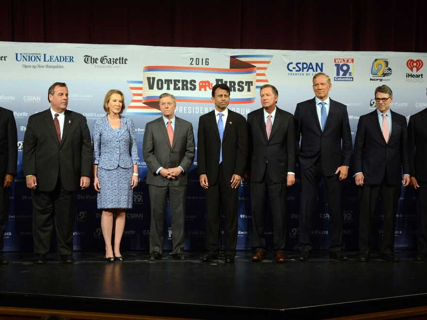 There are just so many GOP presidential candidates ... can we really tell who leads whom right now?