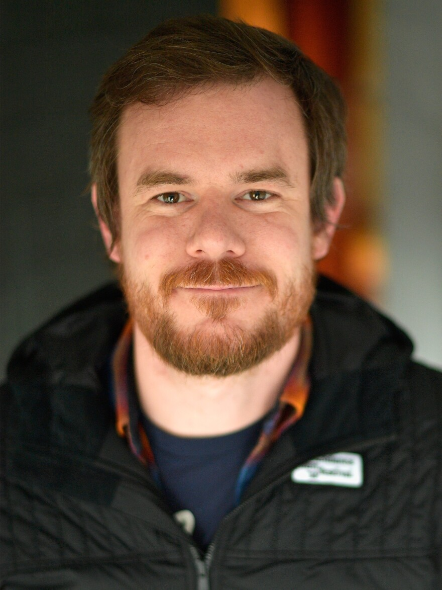 Joe Swanberg, pictured at the 2018 Sundance Film Festival, has translated his filmmaking style into an anthology Netflix series in <em>Easy.</em>
