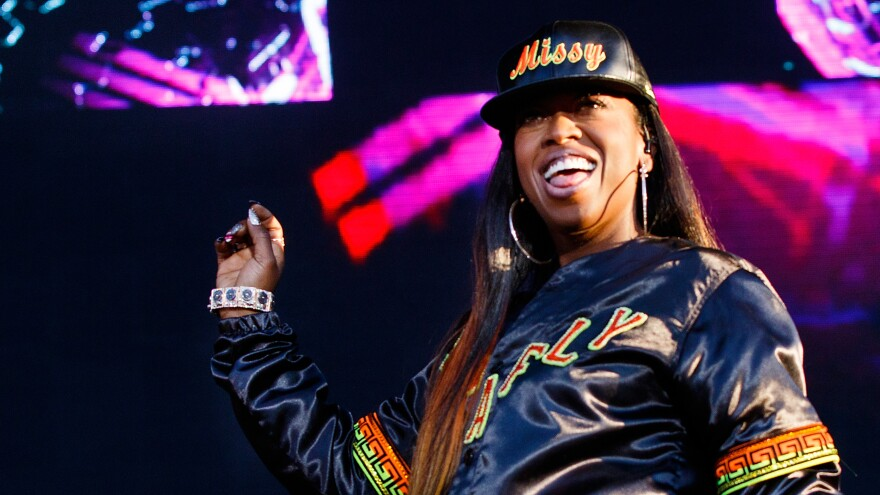 Missy Elliott, one of 24 nominees for the Songwriters Hall of Fame's 2019 class.