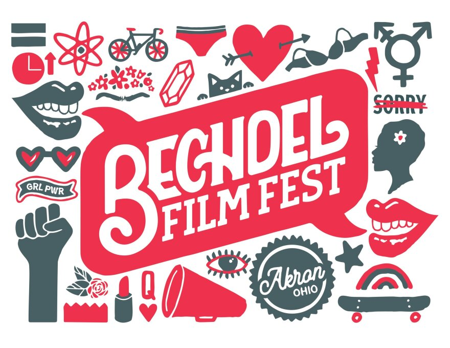 a photo of the Bechdel Film Fest poster
