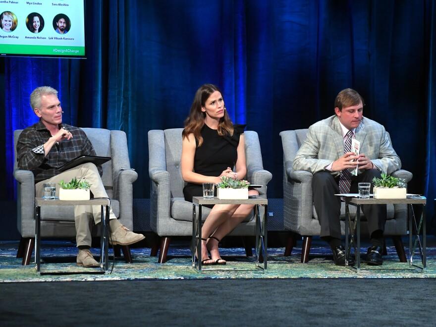 Brad Smith, Jennifer Garner, Chad Pennington