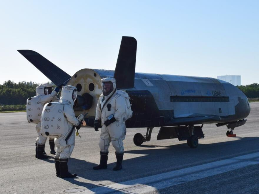 The U.S. Air Force has been sending the X-37B robotic spacecraft into space for over a decade. Its missions remain classified.