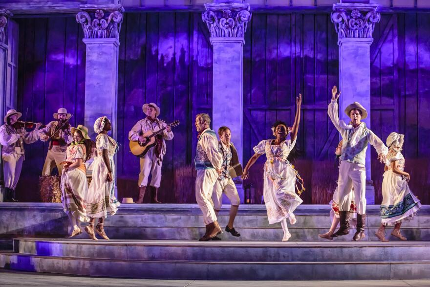 """Shakespeare Festival presented """"Winter's Tale"""" as its 2017 mainstage production in Forest Park."""