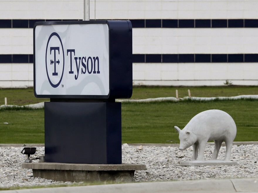 A plant in Waterloo, Iowa, is one of several Tyson Foods facilities that experienced severe outbreaks of the coronavirus among workers last year.