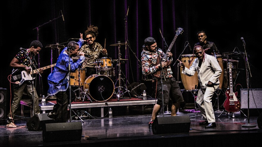 The Colombian band Tribu Baharú is scheduled to perform at this month's SXSW music festival.