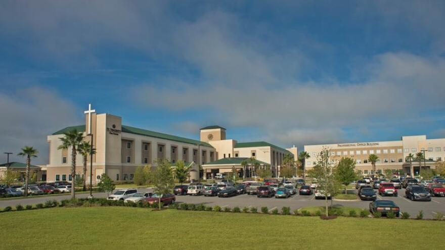 Ascension St. Vincent's Clay County hospital is pictured.