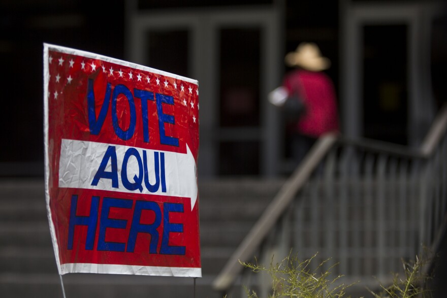 Early voting runs until Oct. 30 in Texas.