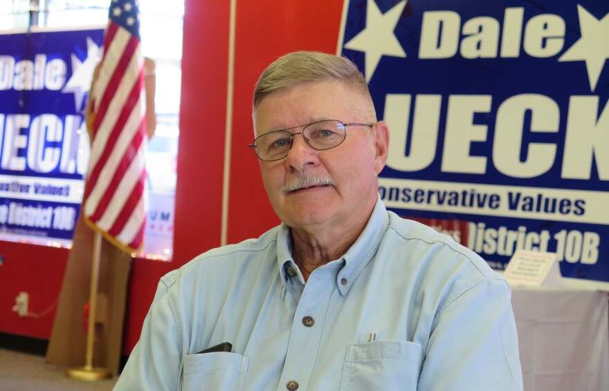 Republican state Rep. Dale Lueck represents Aitkin and the surrounding area in rural Minnesota.