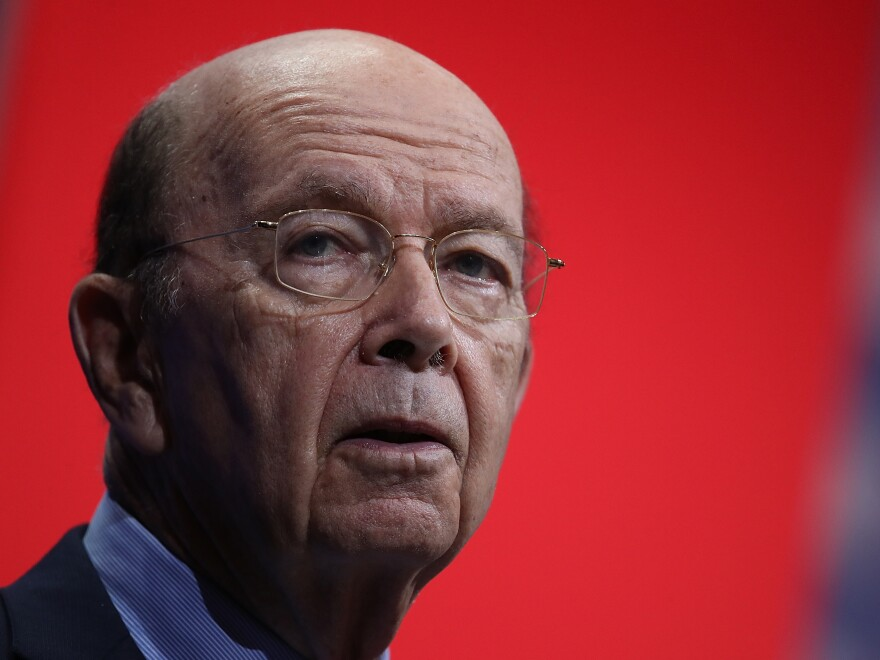 The Trump administration has asked the Supreme Court to block the deposition of Commerce Secretary Wilbur Ross, who approved adding the citizenship question to the 2020 census.