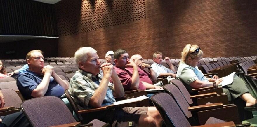 Ohio EPA Public Hearing Wooster