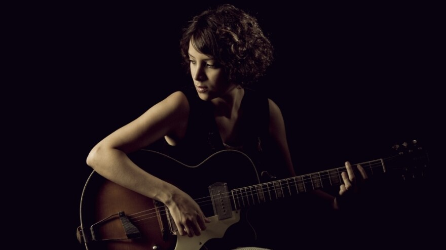 Bilingual singer-songwriter Gaby Moreno's new album is titled <em>Illustrated Songs</em>.