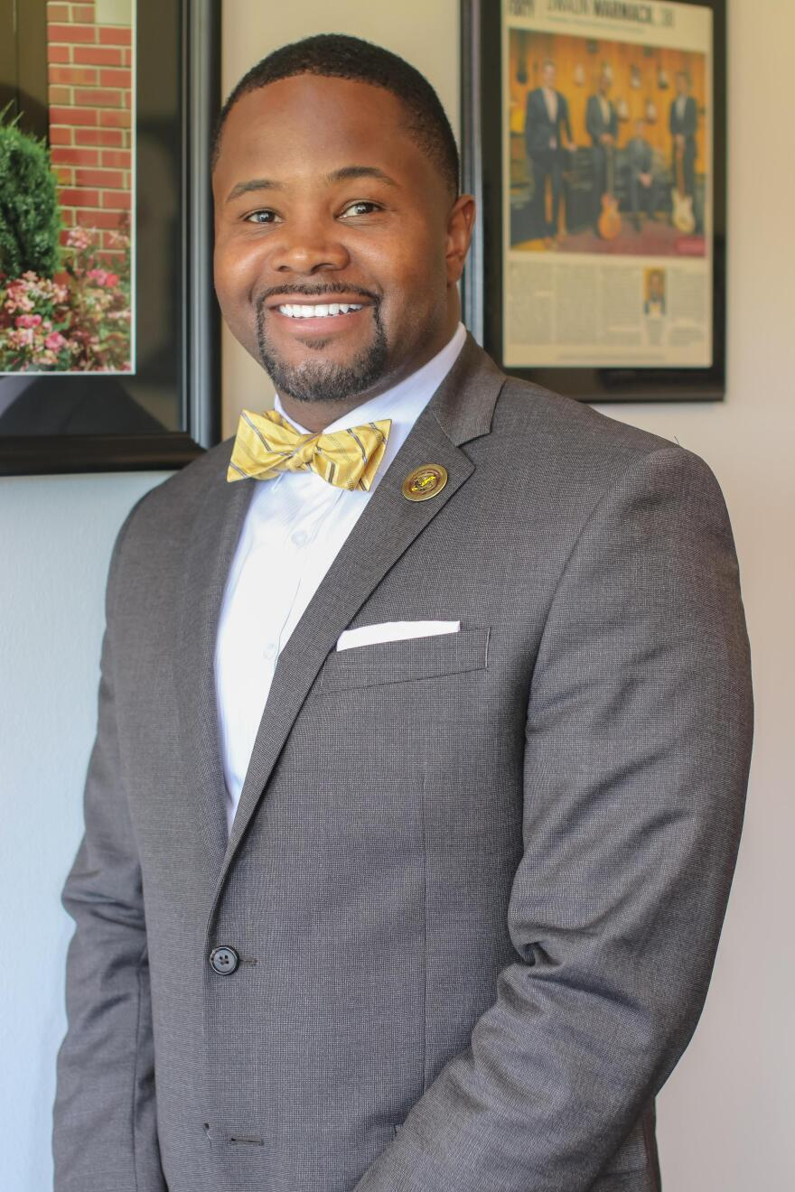 Harris-Stowe State University's president Dwaun Warmack is among the youngest president's of a four-year college in the country.