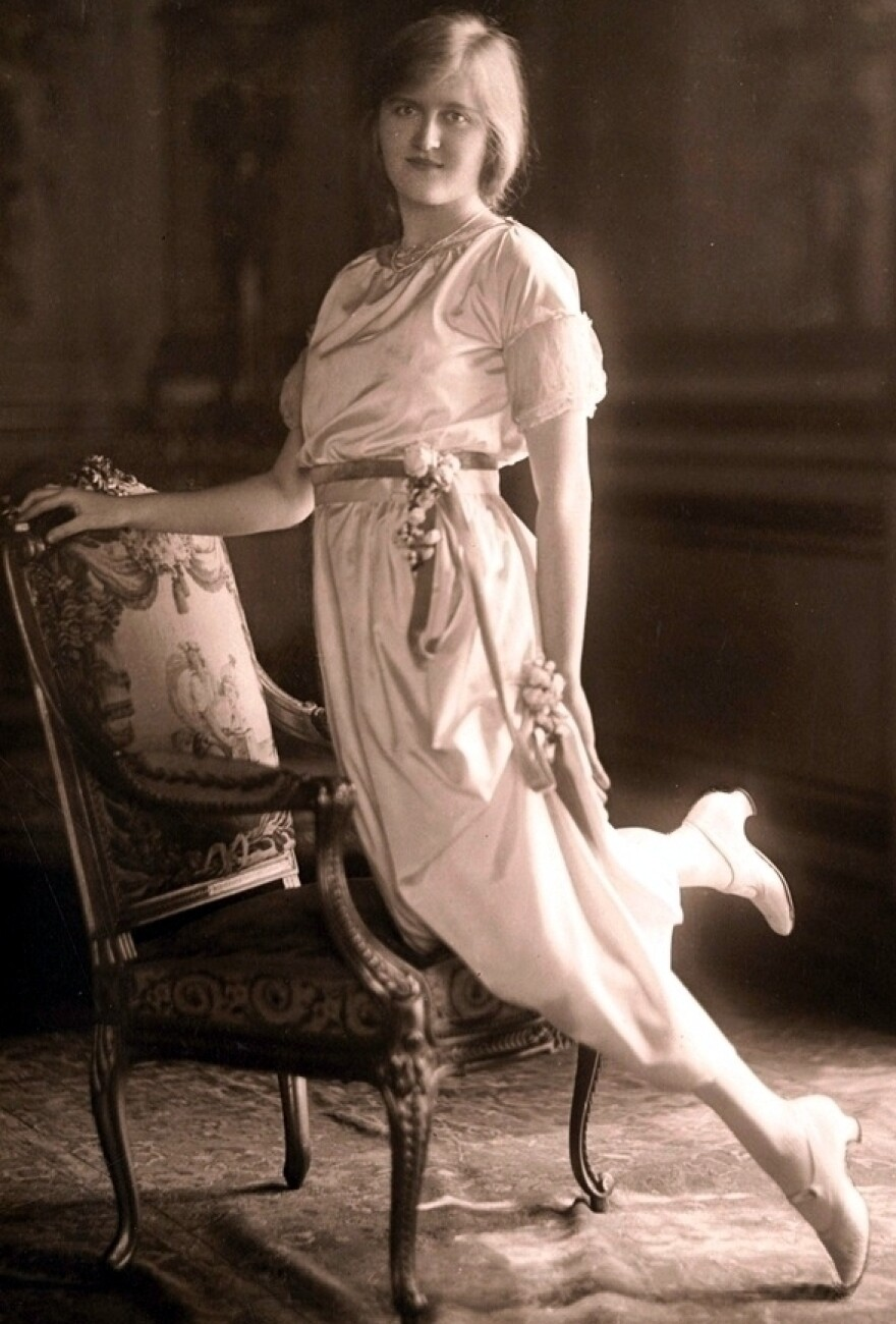 Huguette Clark poses for a photograph in her debutante days. She was 104 when she died in 2011. (Photo from the book <em>Empty Mansions</em>)