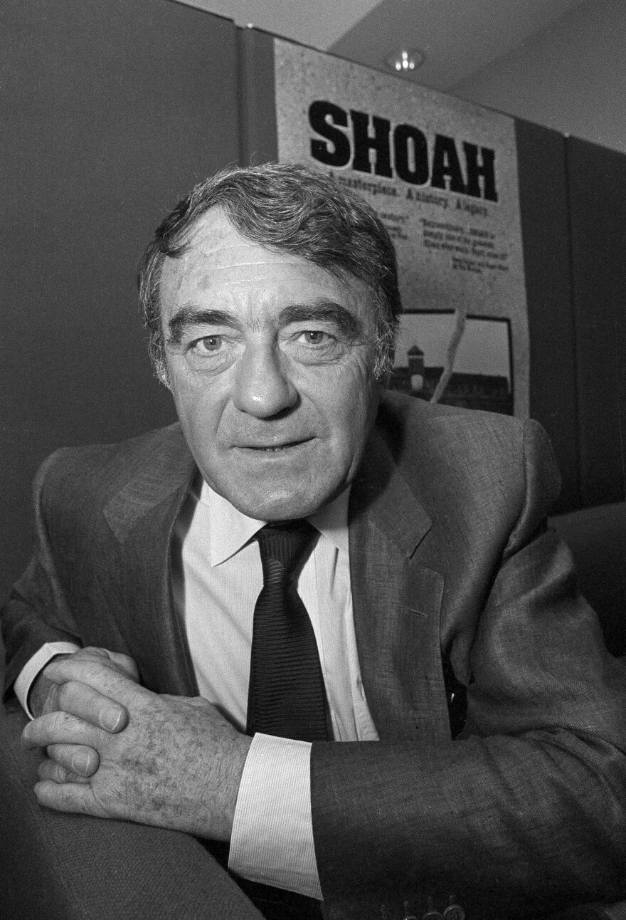 French filmmaker Claude Lanzmann posed for this portrait in Los Angeles in 1986, one year after the release of <em>Shoa</em><em>h.</em>