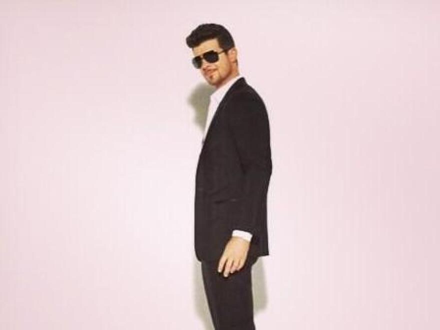 This is Robin Thicke.