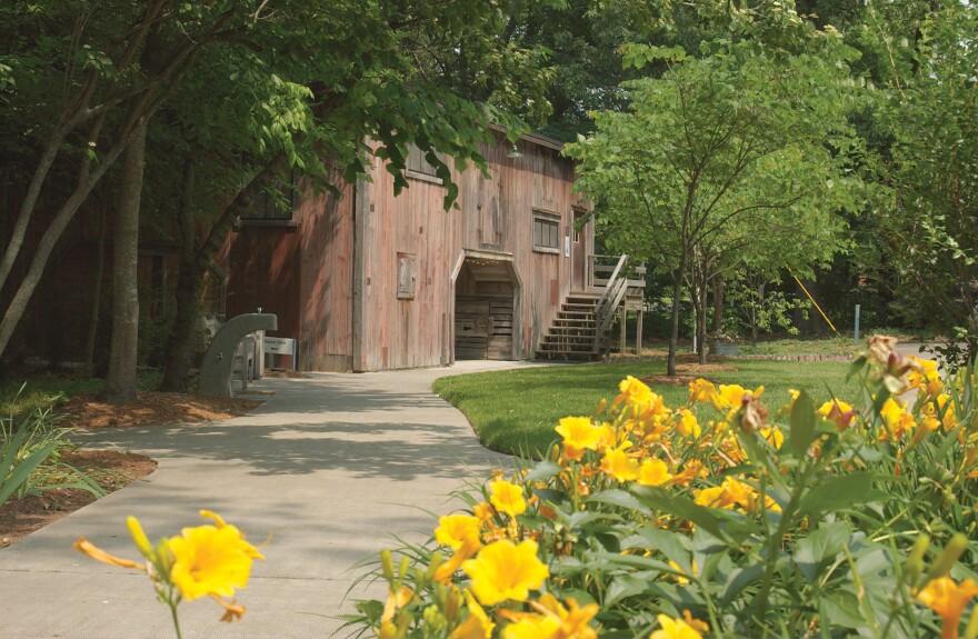 Barn exterior at the Hemingway-Pfeiffer Museum and Educational Center in Piggott