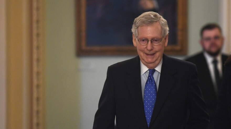 Senate Majority Leader Mitch McConnell says he would fill a potential Supreme Court vacancy in 2020.