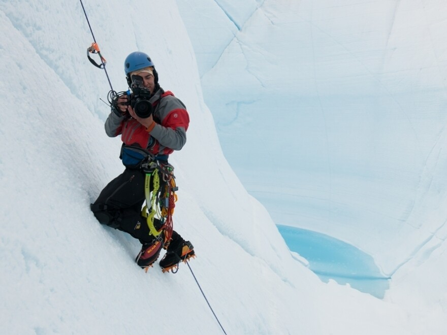 Balog and his crew set out to document radical climate change.