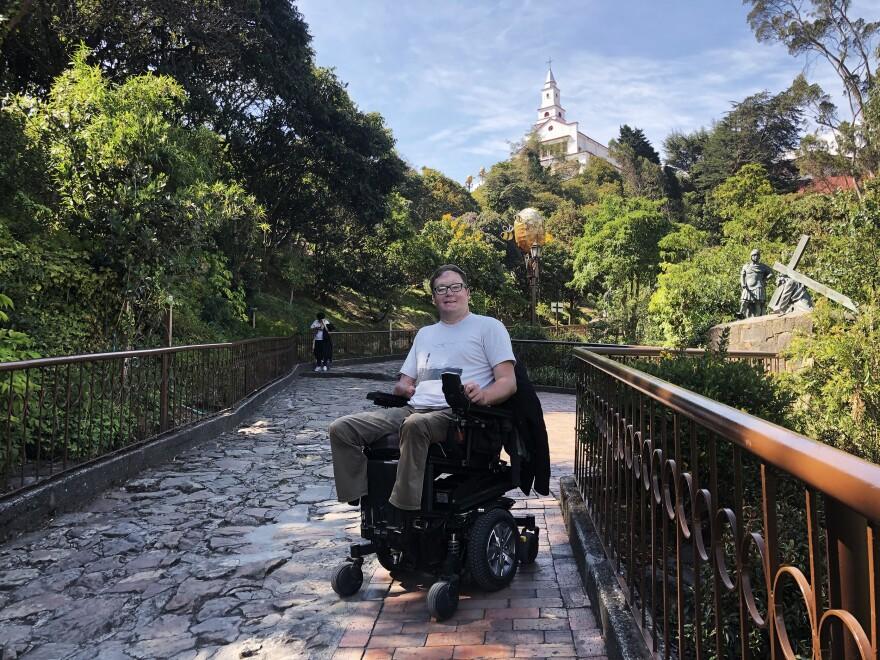John Morris in Bogota, Colombia.