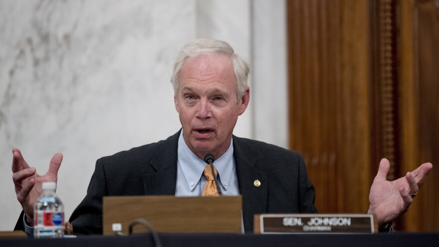 Sen. Ron Johnson, R-Wis., of the Senate Homeland Security and Governmental Affairs Committee pushed for a subpoena for Blue Star Strategies, a consulting firm with ties to Burisma, the Ukrainian gas company.