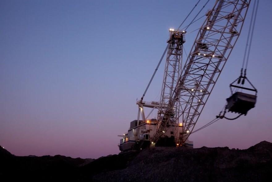 Photo of coal mine on federal land.