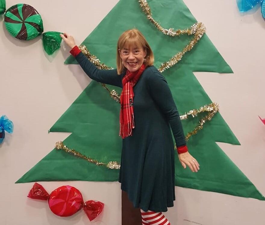 Author Bernadette Nason celebrates the Christmas season.