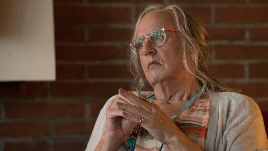 Jeffrey Tambor plays Maura, a transgender woman, on the Amazon series <em>Transparent</em>.